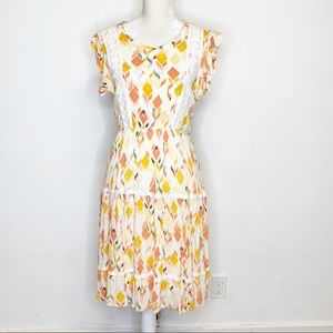 Lauren Conrad Baja Bazaar Floral Dress Small